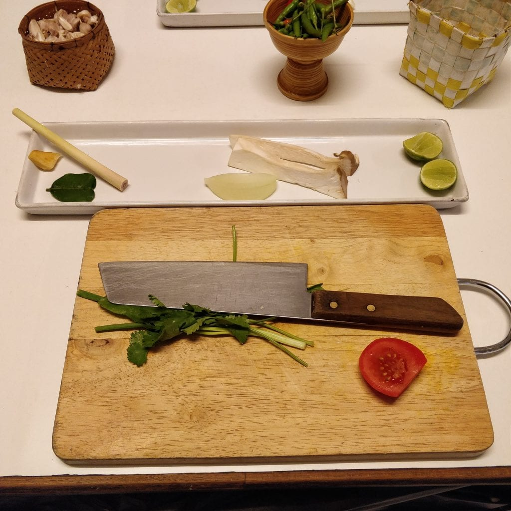 Ingredients for the soup