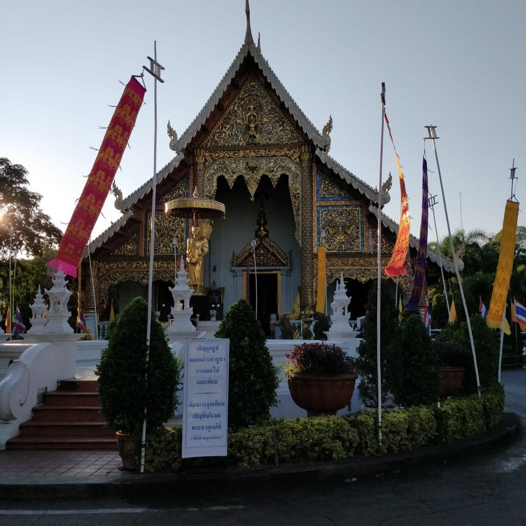 One of the 10 temples or so