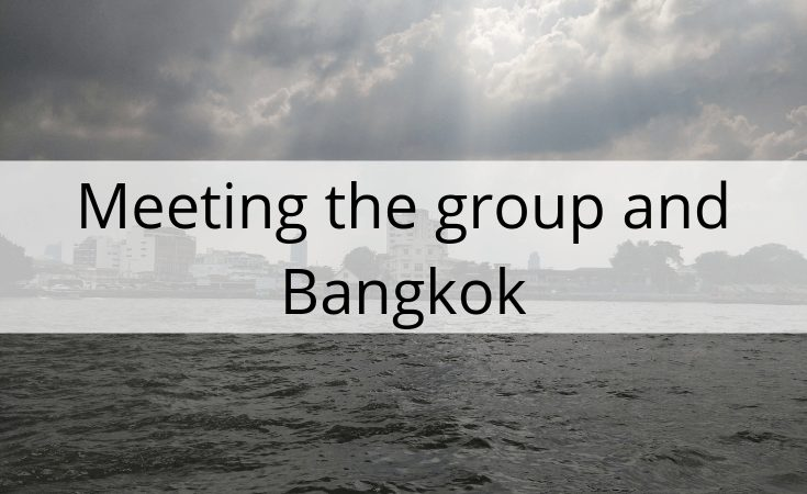 meeting the group