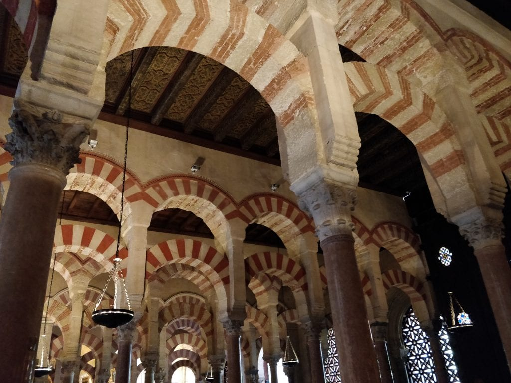 inside of the Mezquita, Cordoba, Andalucia, Spain