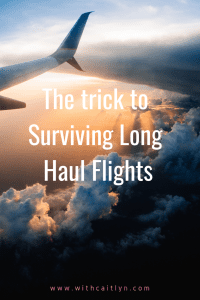 The trick to surviving long haul flights