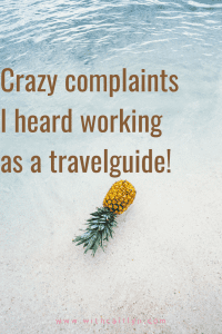 Crazy and funny holiday complaints