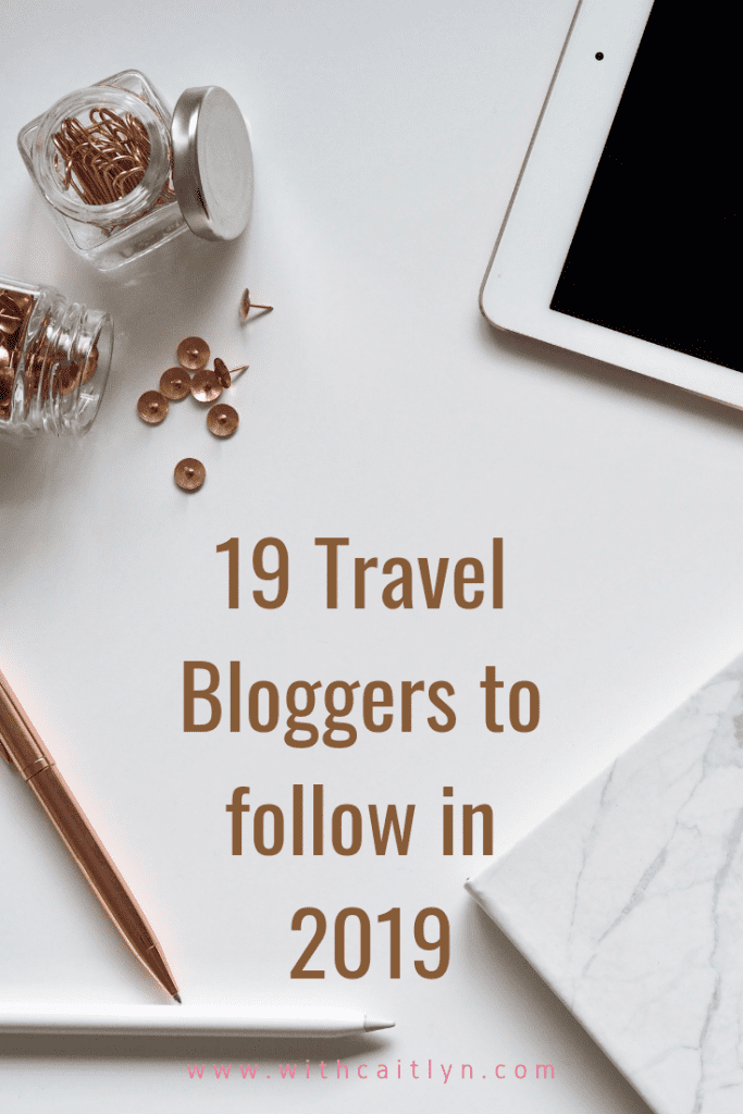 travelbloggers to follow in 2019