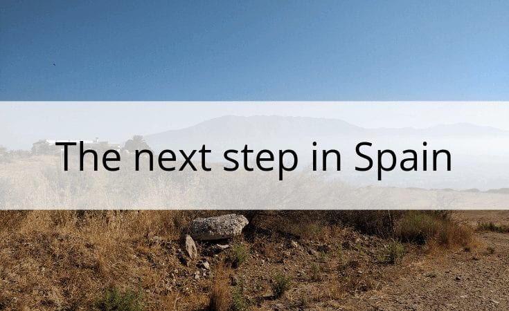 the next step in Spain