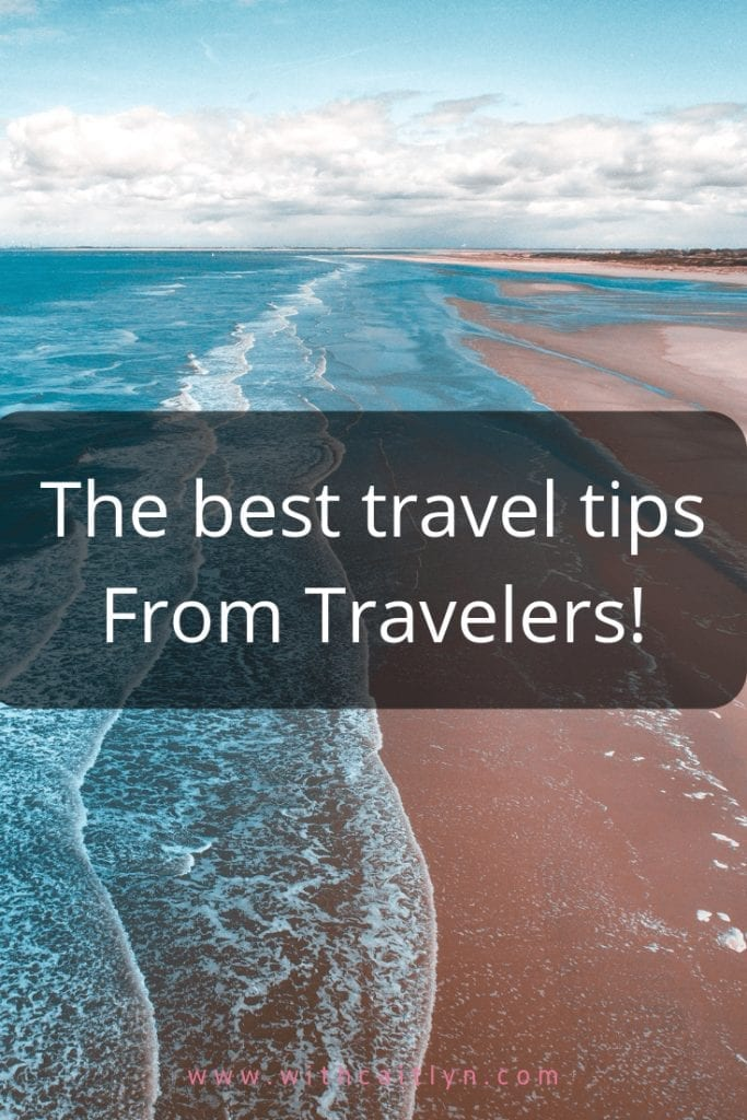 travel tips from travelers