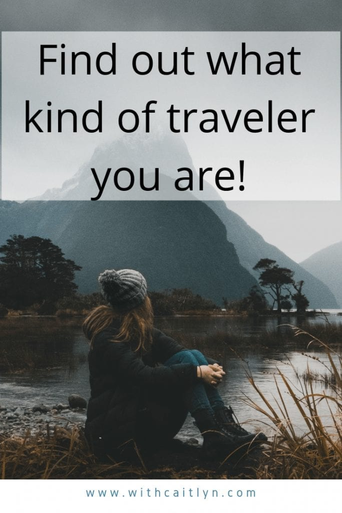 find out what kind of traveler you are