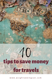 10 tips to save money for travels