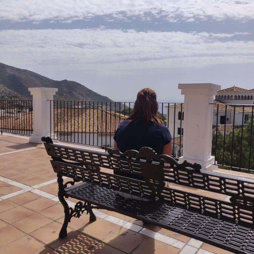 View in Mijas Pueblo, Spain